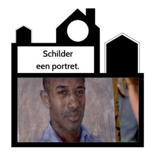 Odigibu Schilder een portret