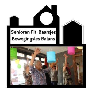 Odigibu bewegingsles balans Seniorenfit Baarsjes