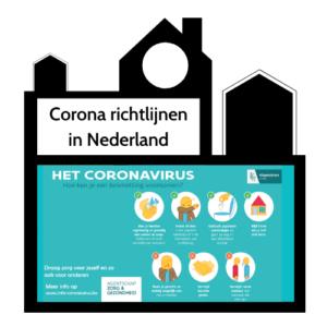 Corona richtlijnen in amsterdam